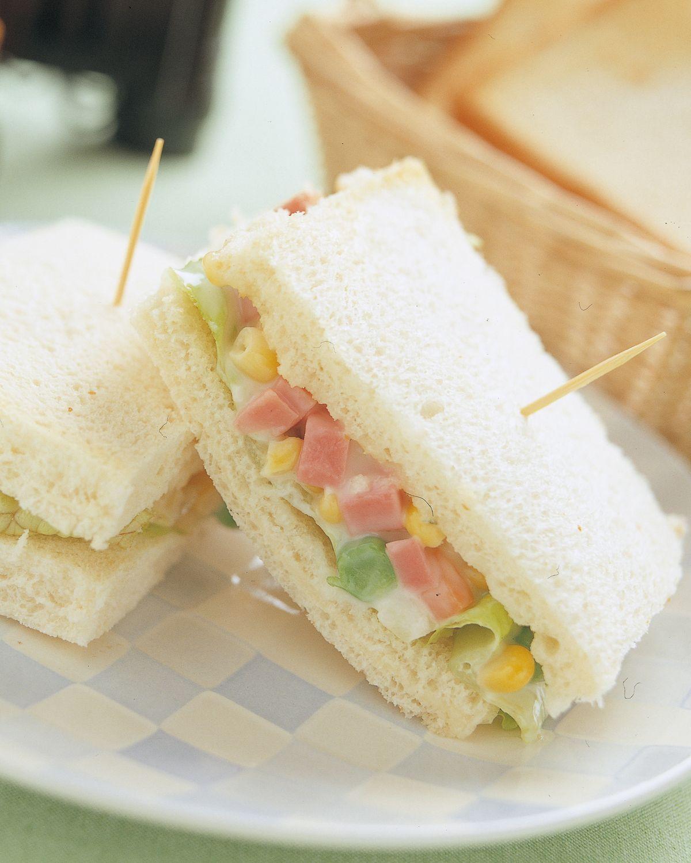 食譜:蔬菜沙拉三明治