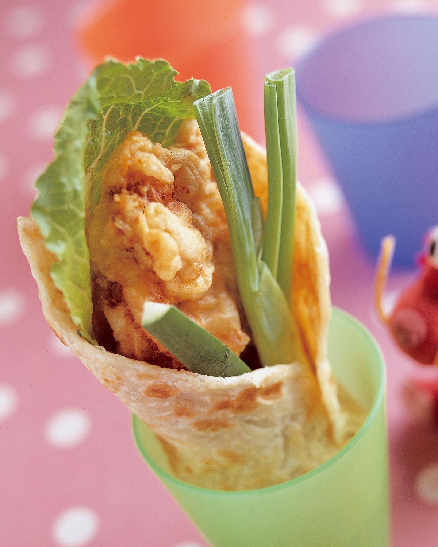 食譜:新北平炸雞捲餅