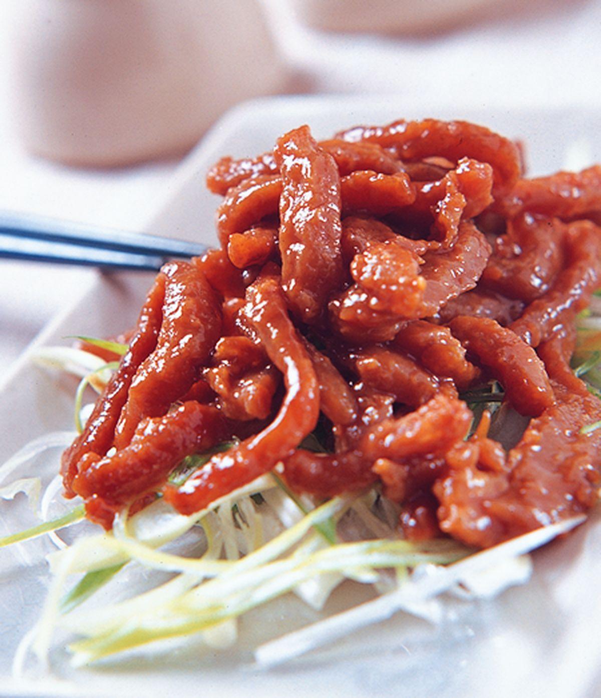 食譜:京醬炒肉絲