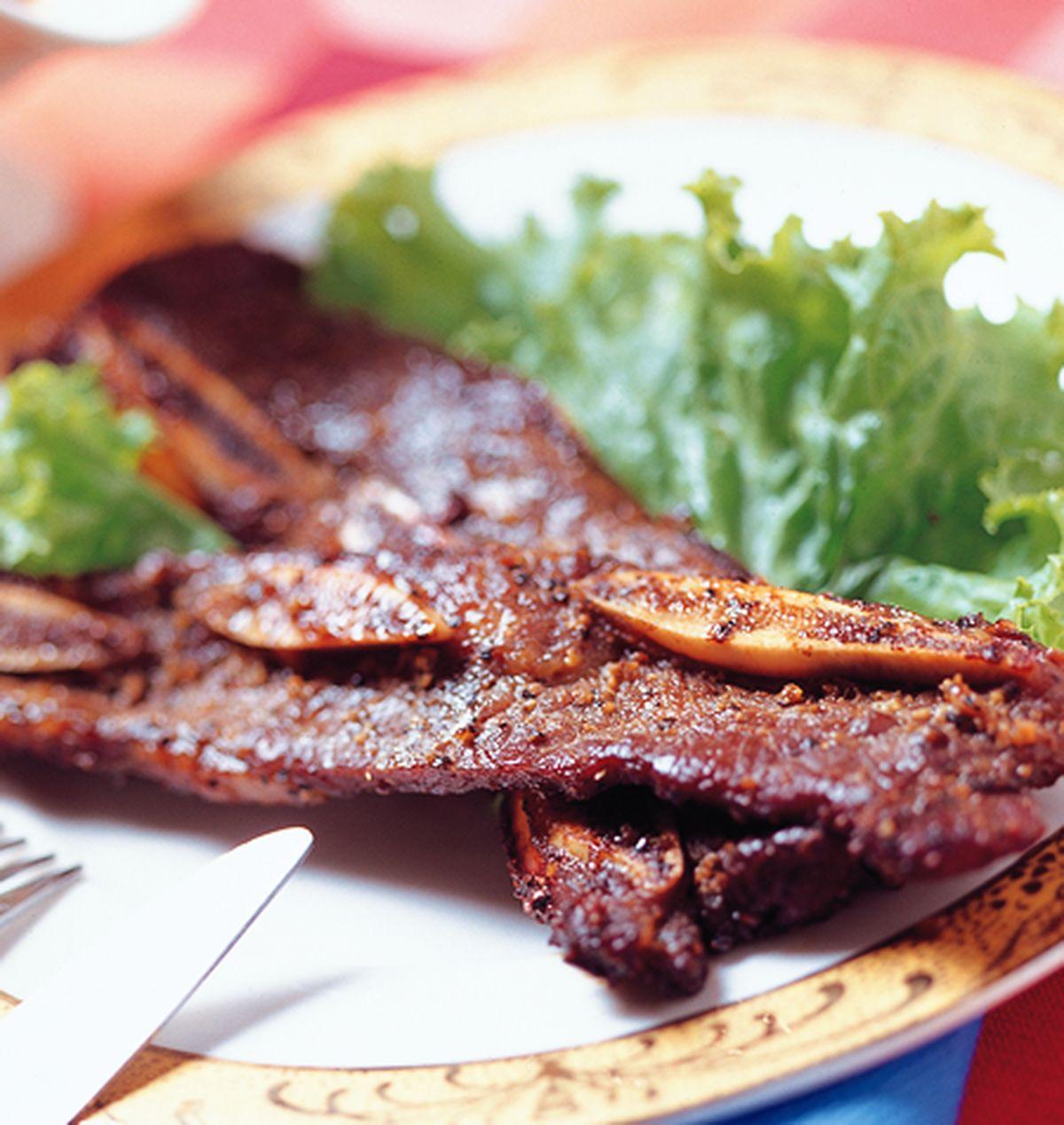 食譜:烤牛小排