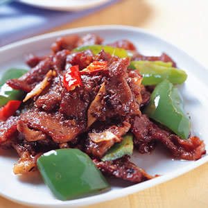 豉汁炒牛肉