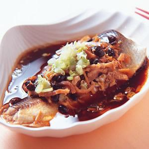 台式豆豉蒸魚