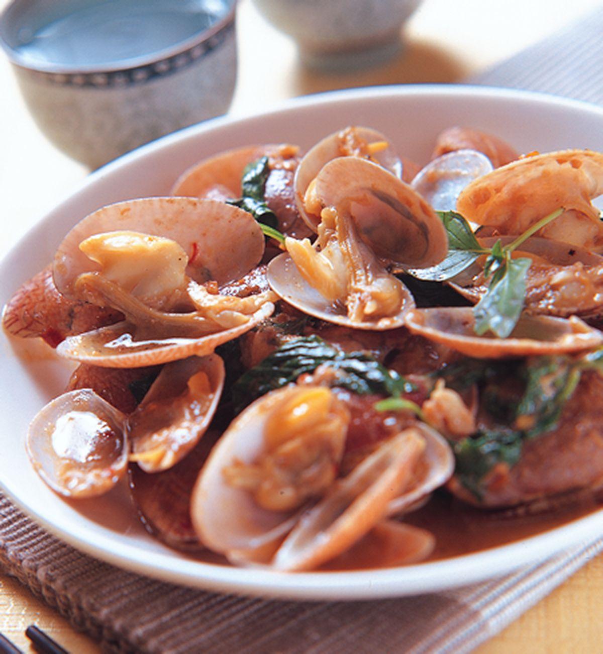 食譜:馬拉盞炒海瓜子