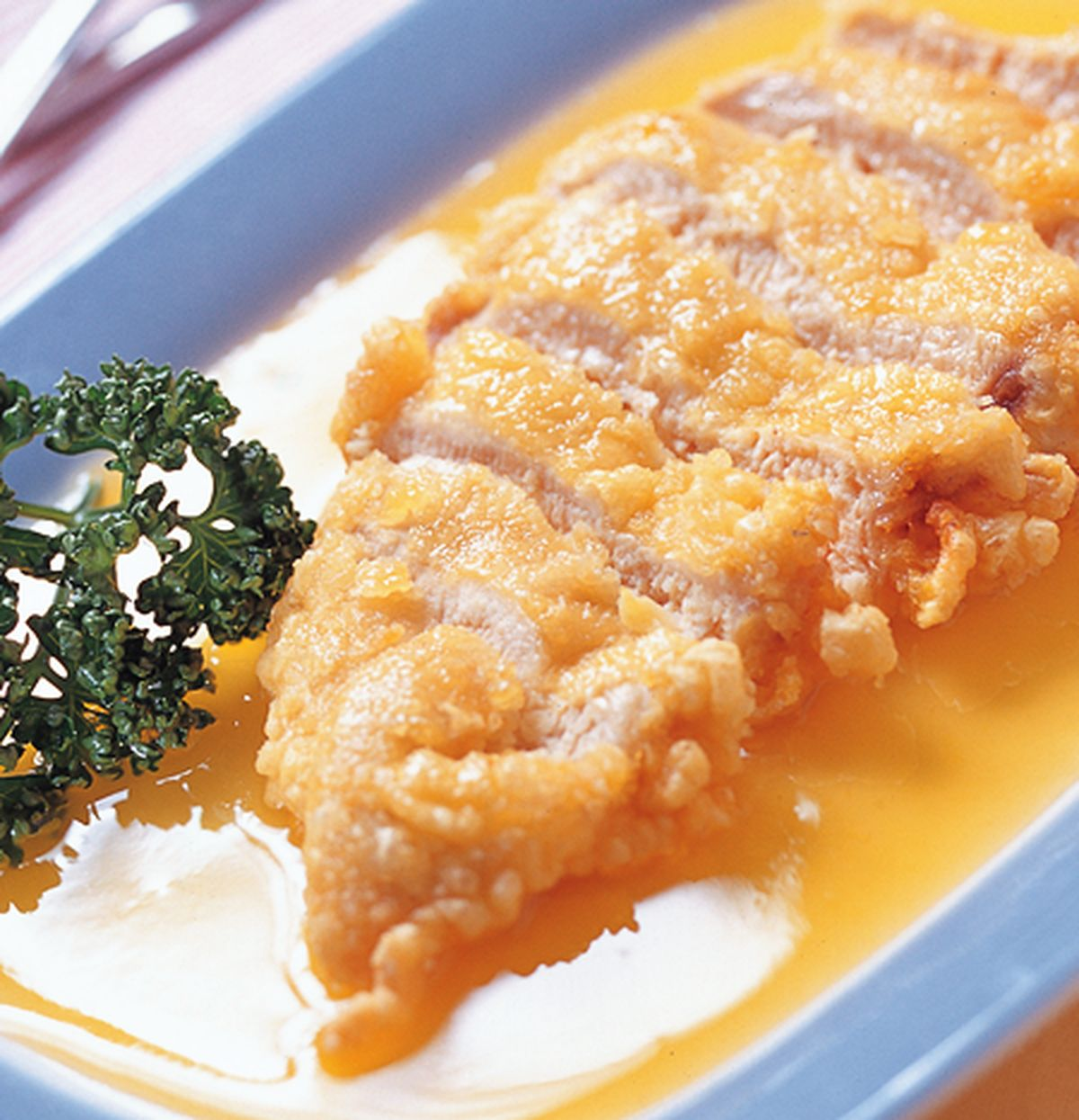 食譜:西檸煎軟雞