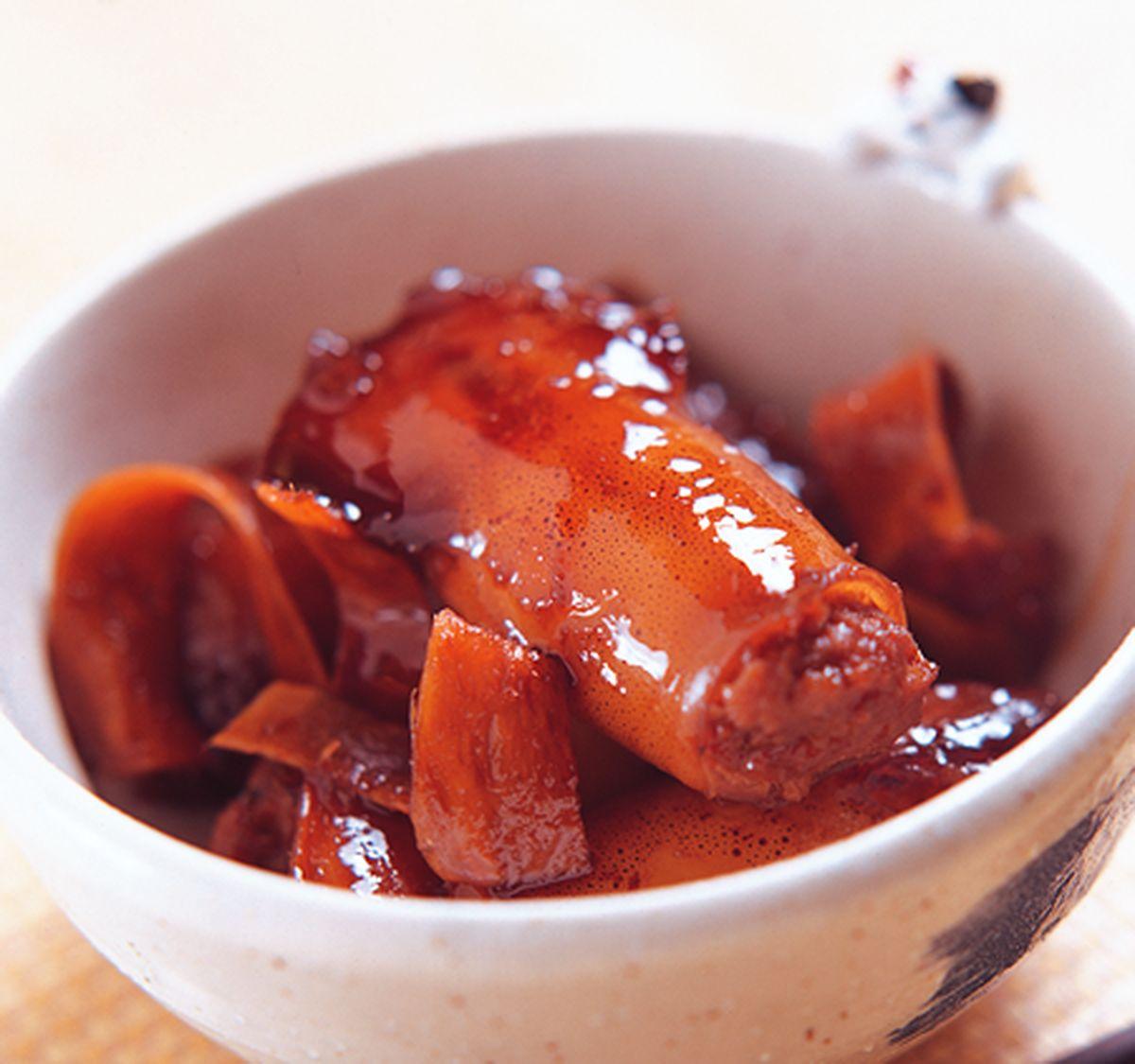 食譜:醬牛肉魷魚