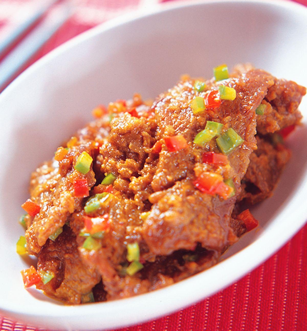 食譜:咖哩炒牛肉
