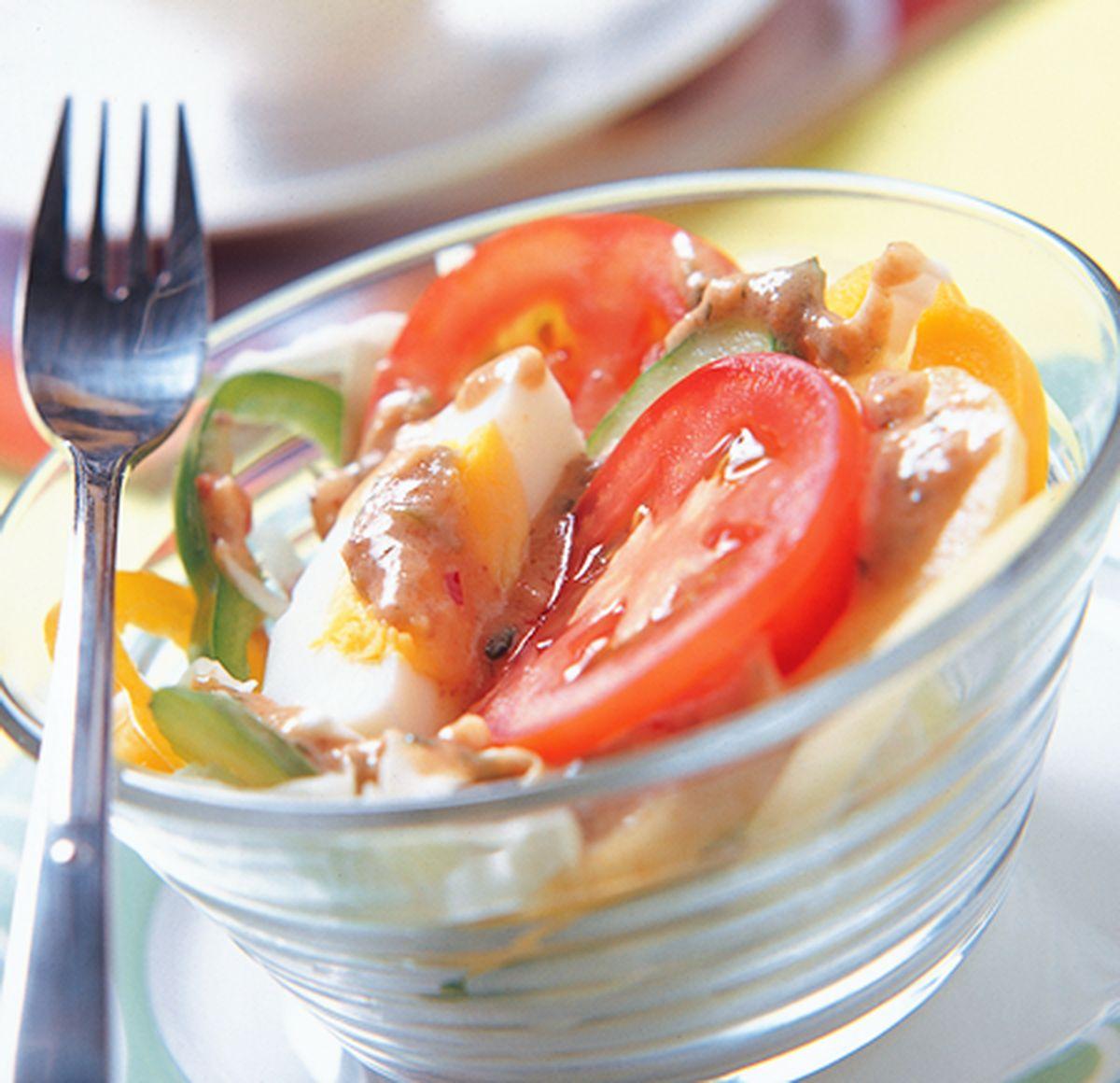 食譜:印式沙拉