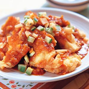 泡菜燴魚片