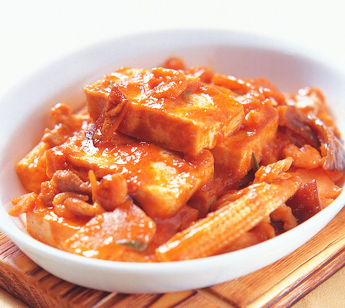 食譜:豆腐雞片