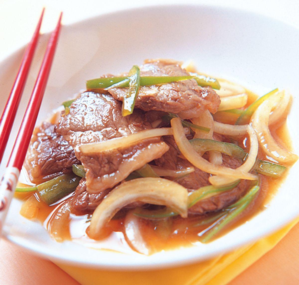 食譜:日式炒牛肉