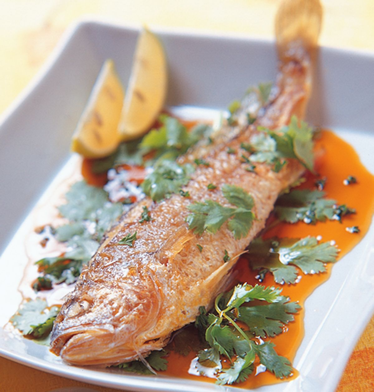食譜:香煎黃魚