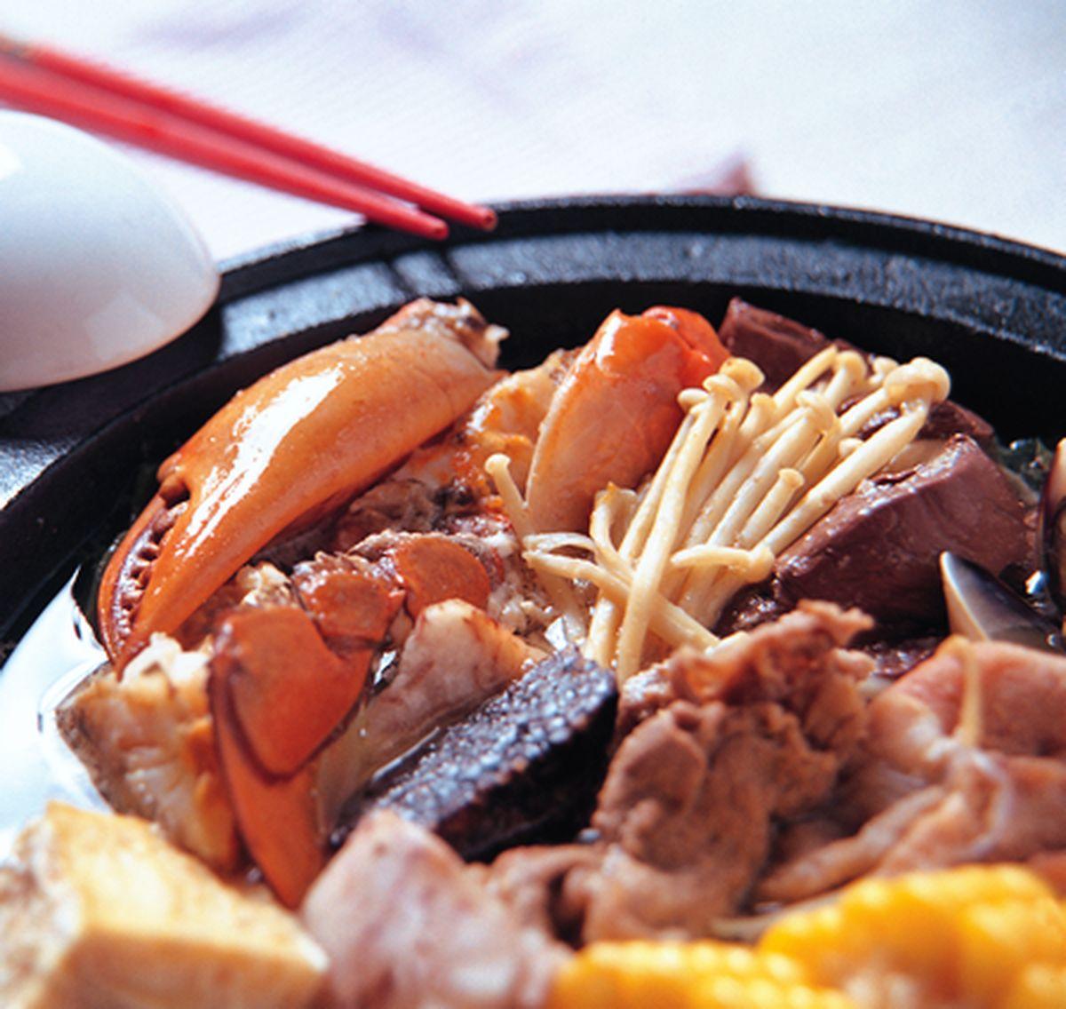 食譜:海鮮火鍋