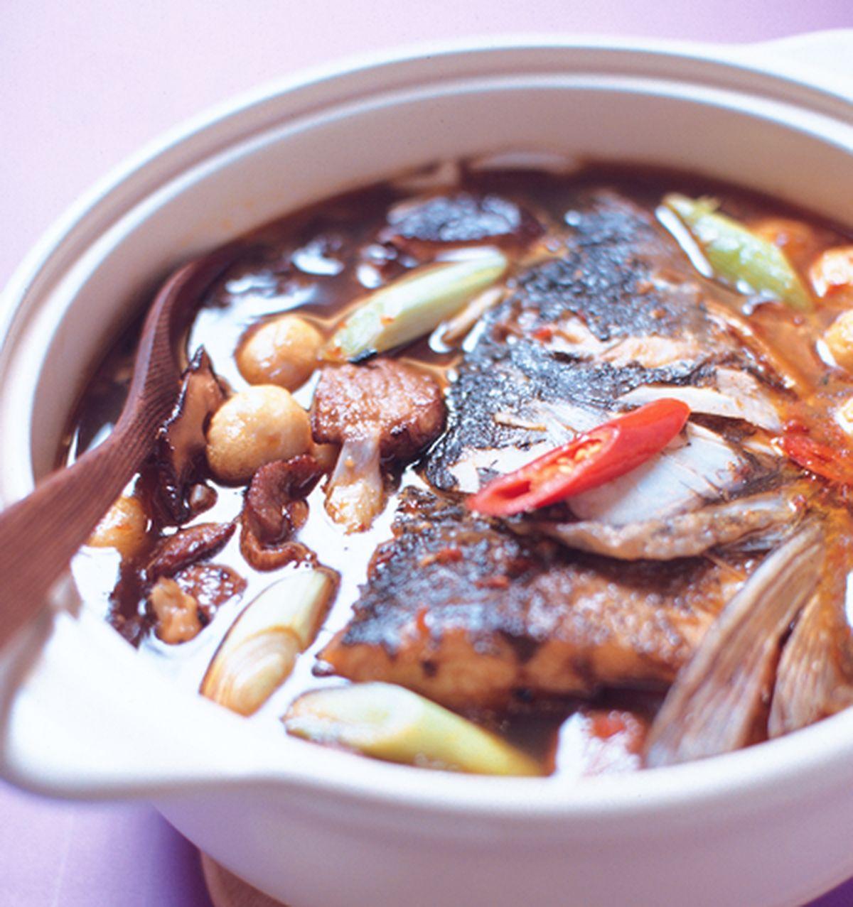 食譜:砂鍋魚頭(1)