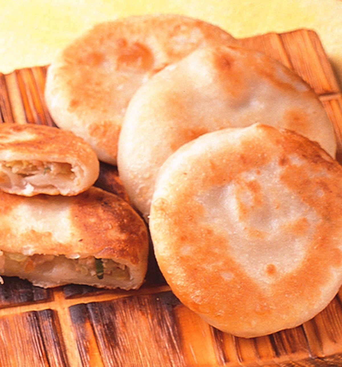 食譜:高麗菜肉絲餅