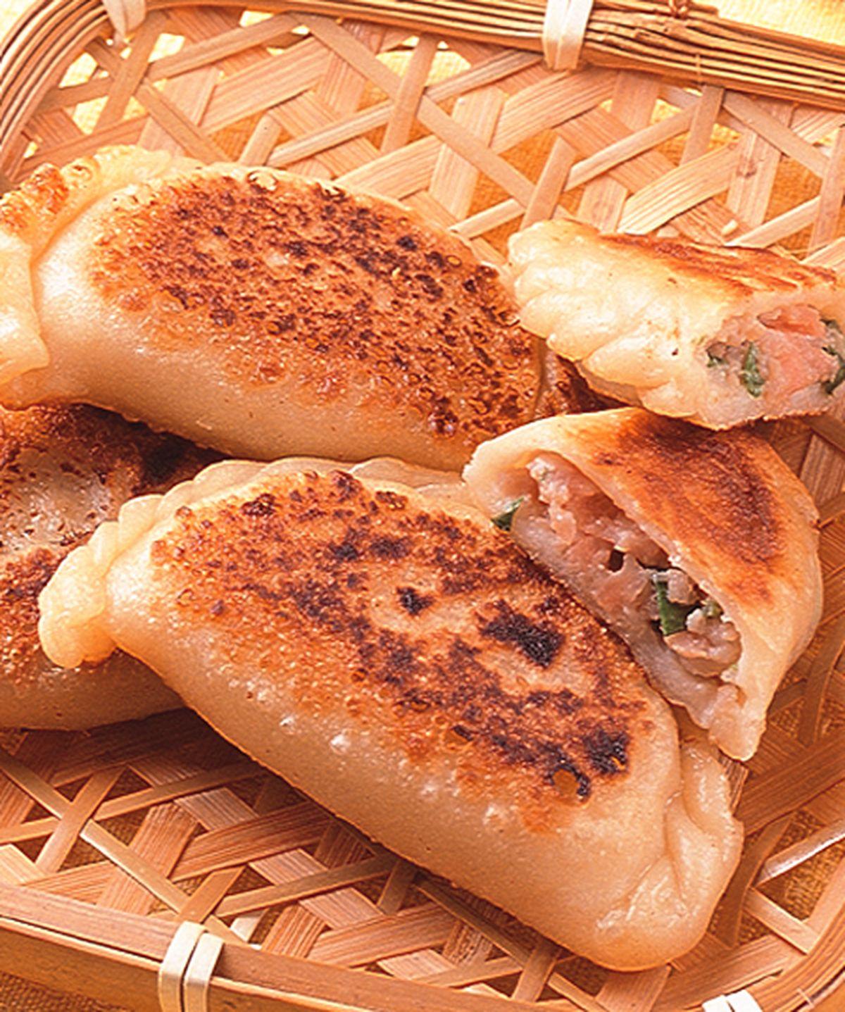 食譜:香菜肉末餅