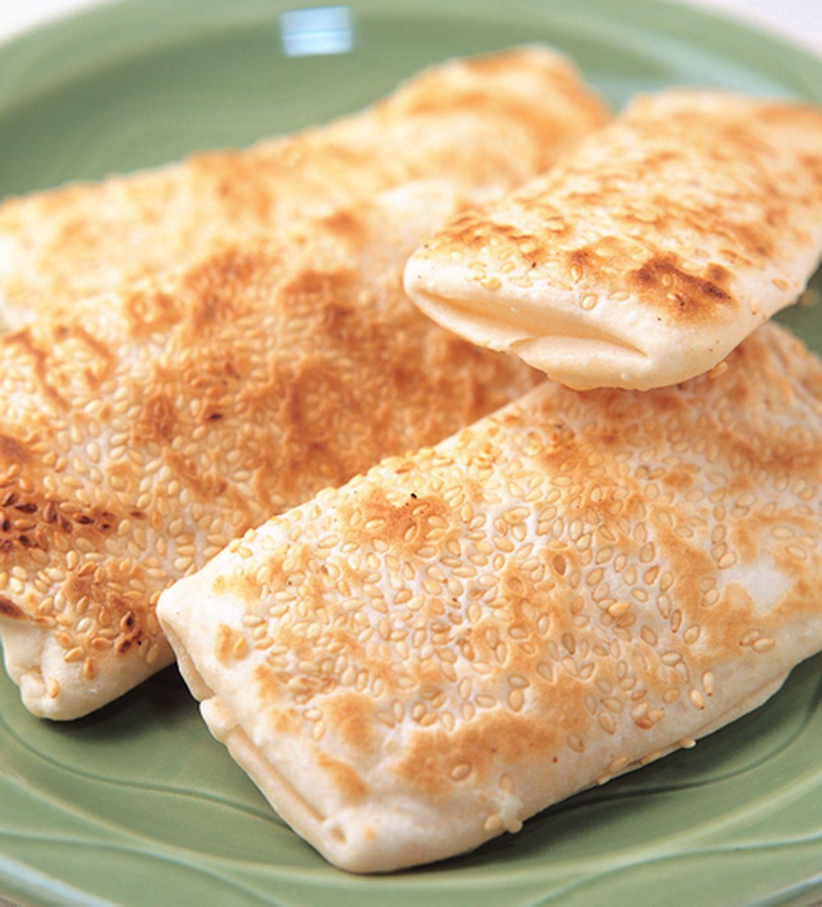 食譜:芝麻燒餅(1)