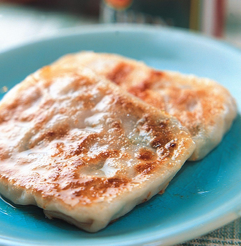 食譜:印度蔥花肉餡Q餅