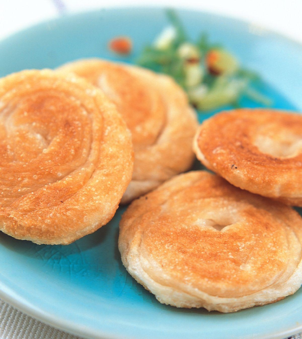 食譜:盤絲捲餅