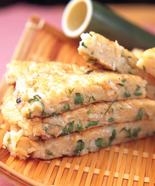 食譜:吻仔魚燜餅