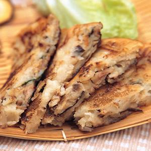 五香鮮菇攤餅