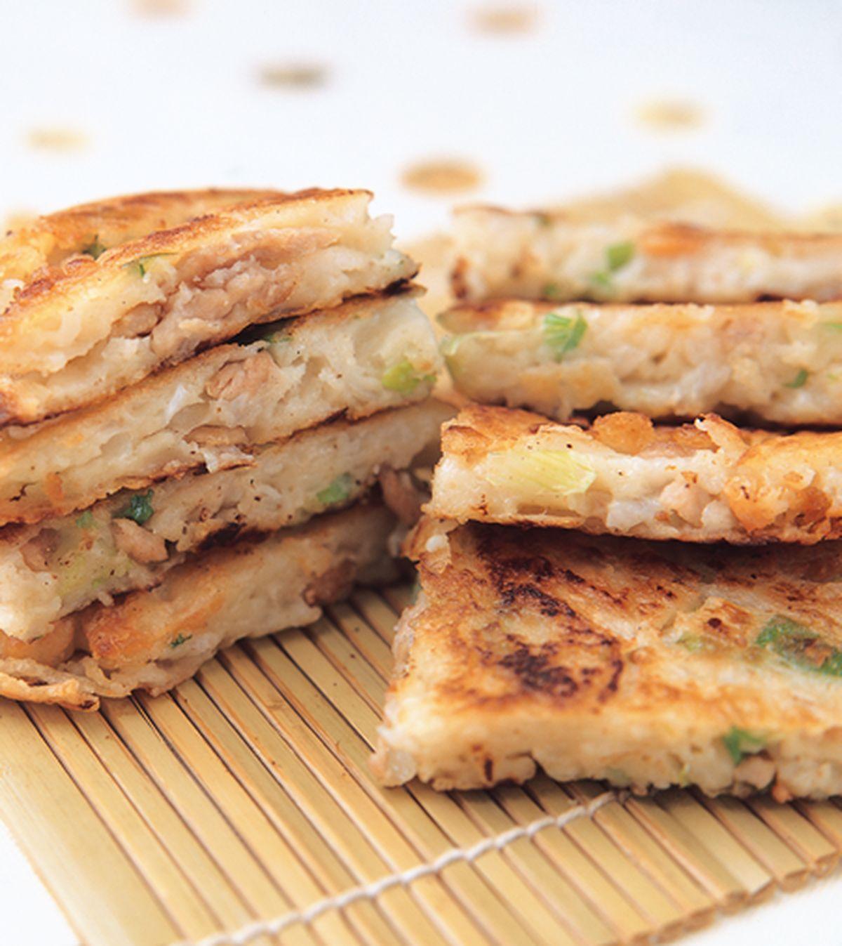 食譜:韭菜攤餅