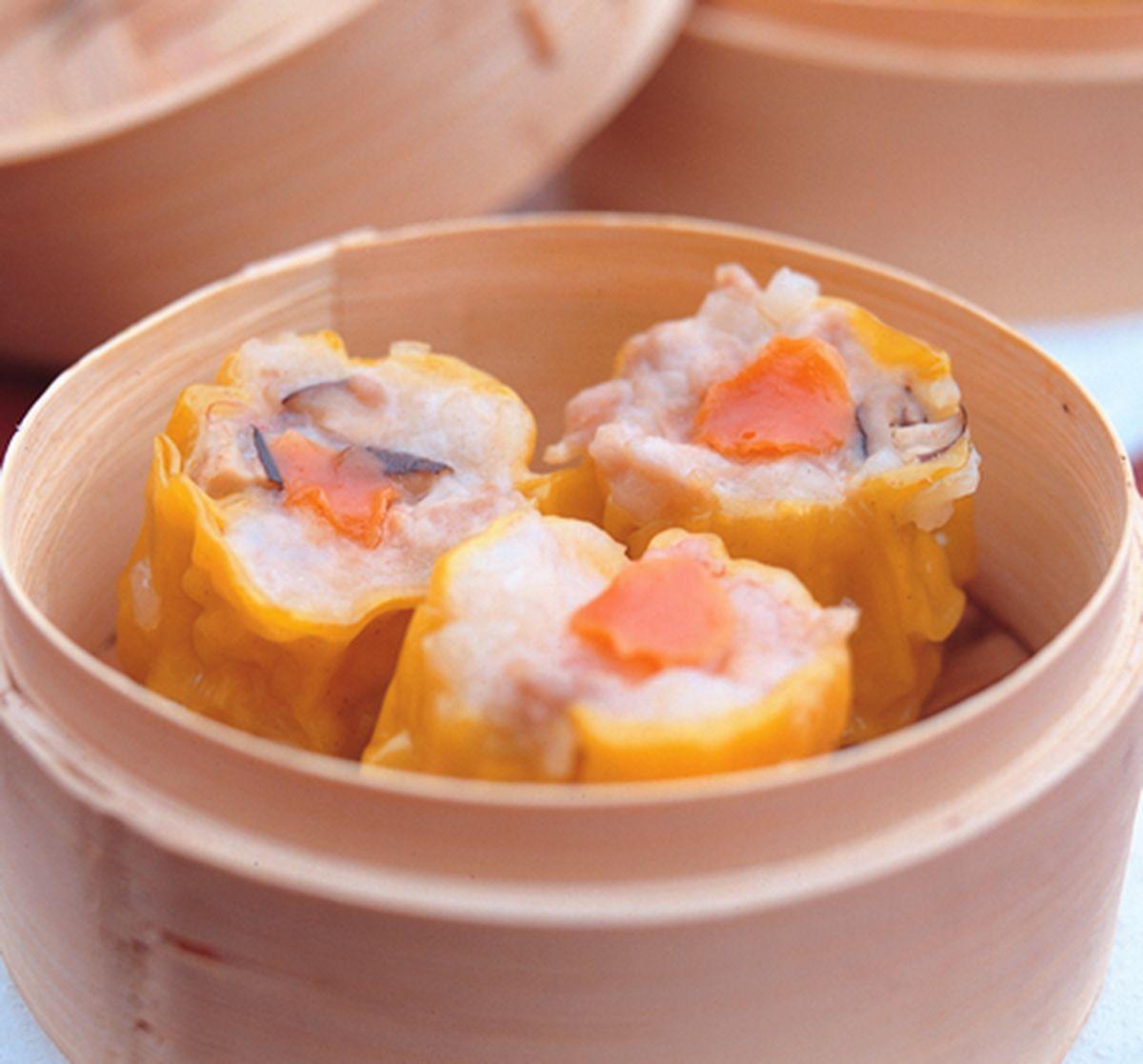 食譜:蟹黃蒸燒賣