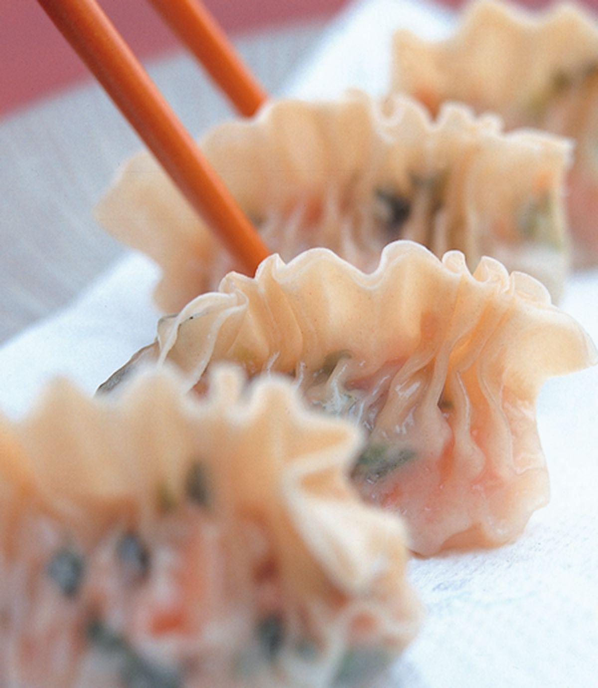 食譜:錦繡魚翅餃