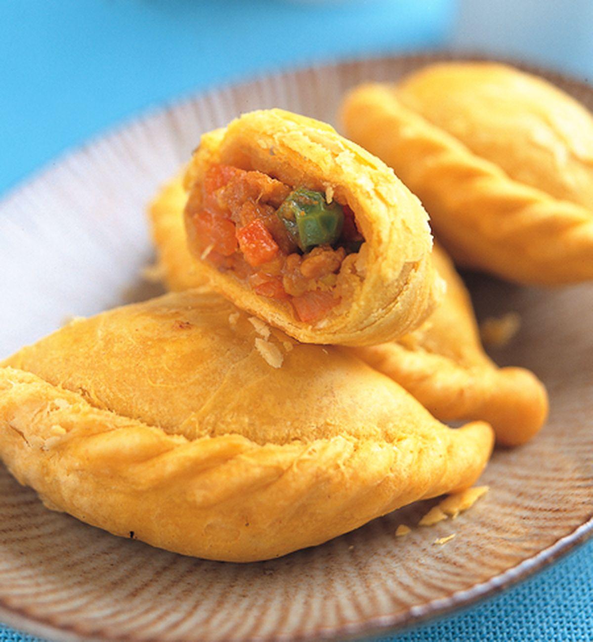 食譜:香酥咖哩餃
