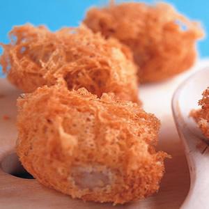蜂巢芋頭餃