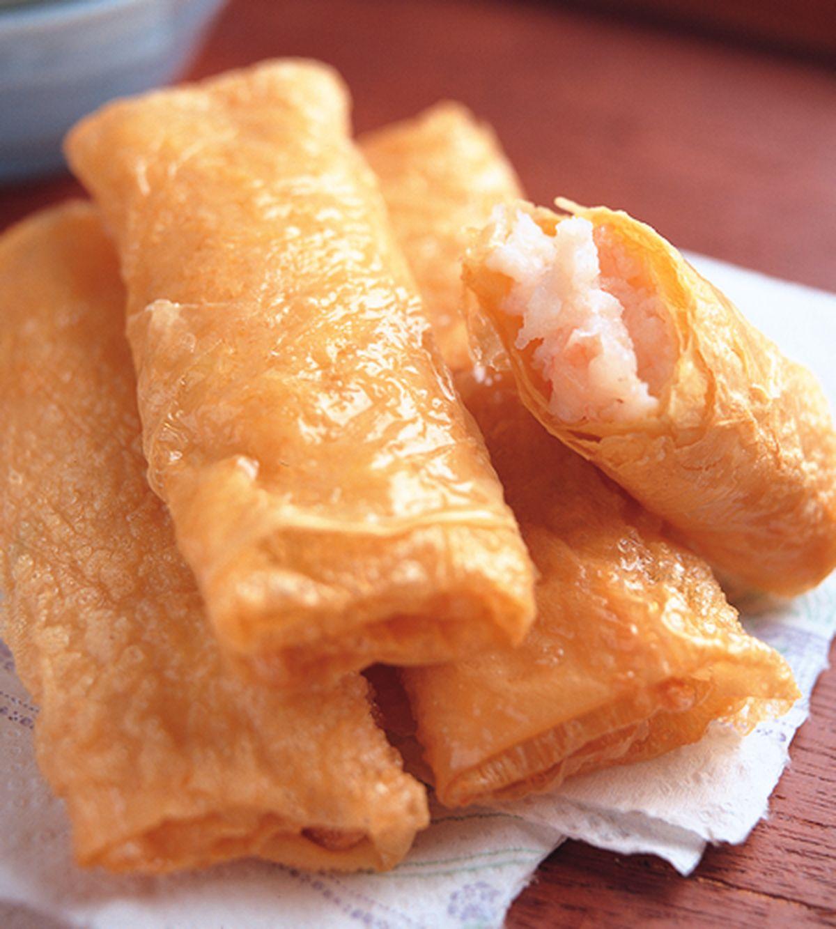 食譜:腐皮鮮蝦捲