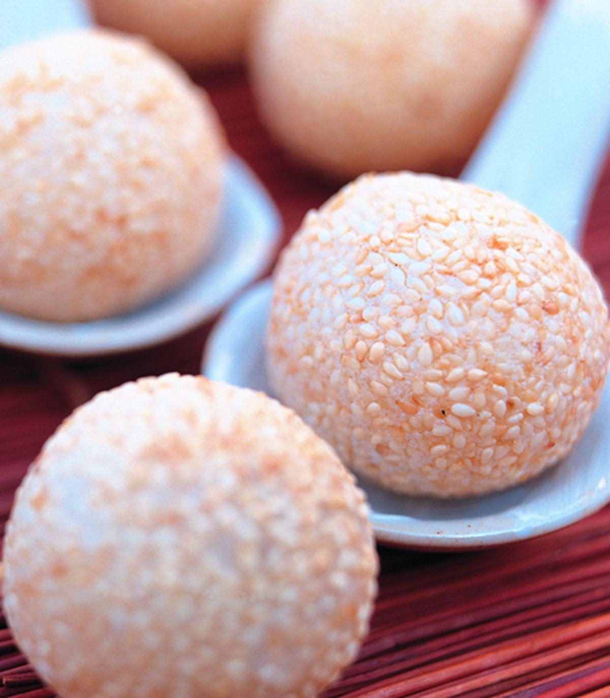食譜:蓮蓉芝麻球(1)