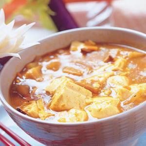 豆腐咖哩醬