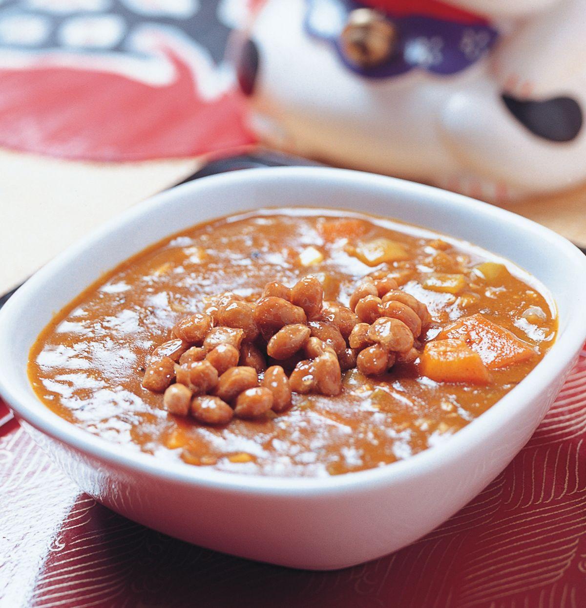 食譜:納豆咖哩醬