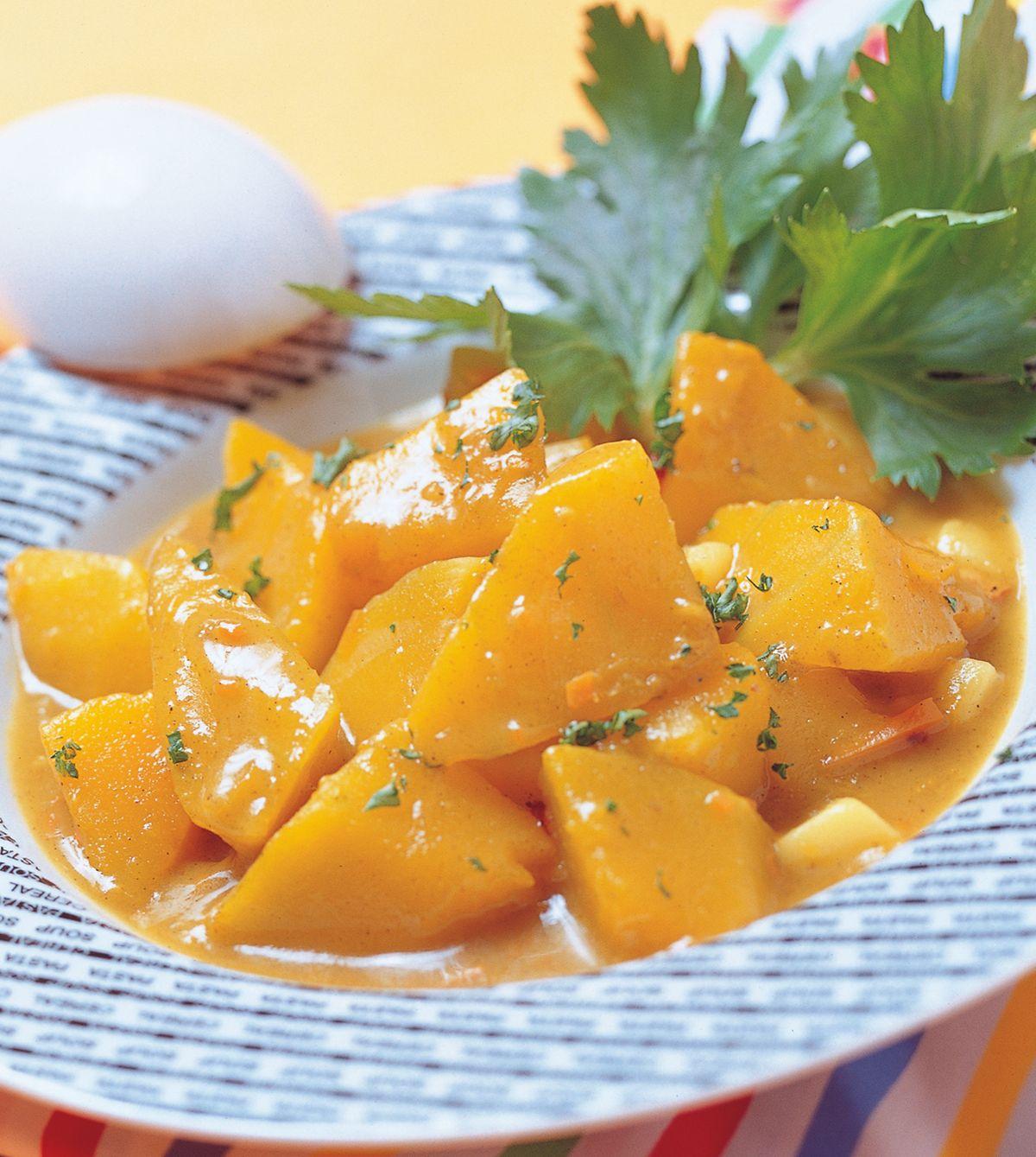 食譜:南瓜咖哩醬