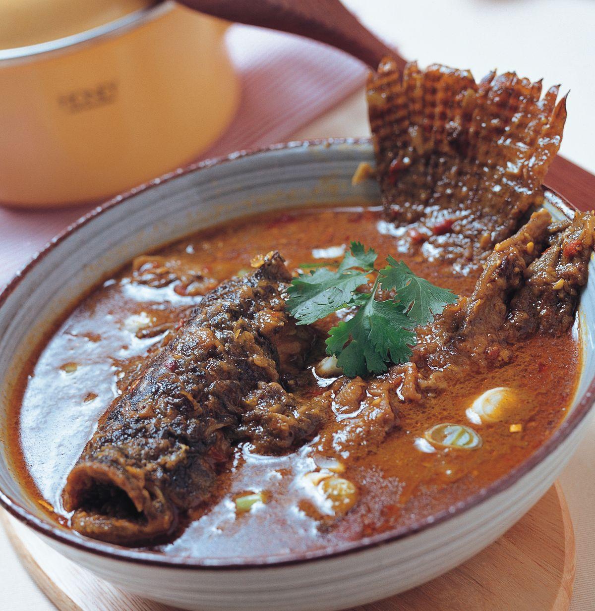 食譜:魚頭咖哩汁