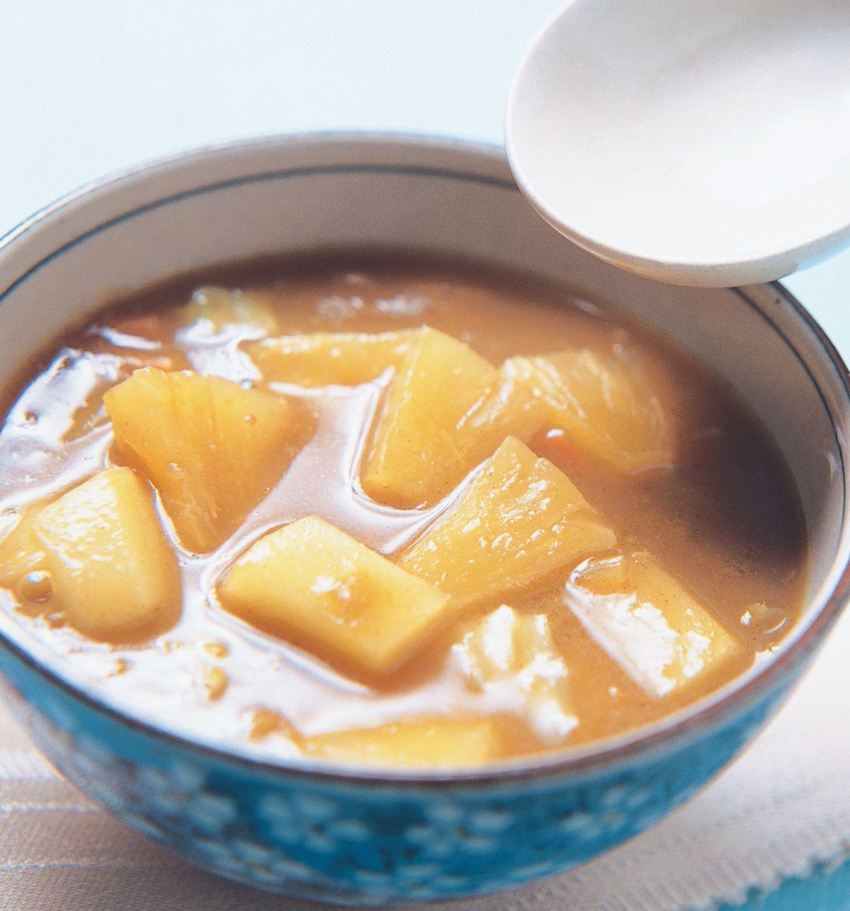 食譜:鳳梨咖哩醬