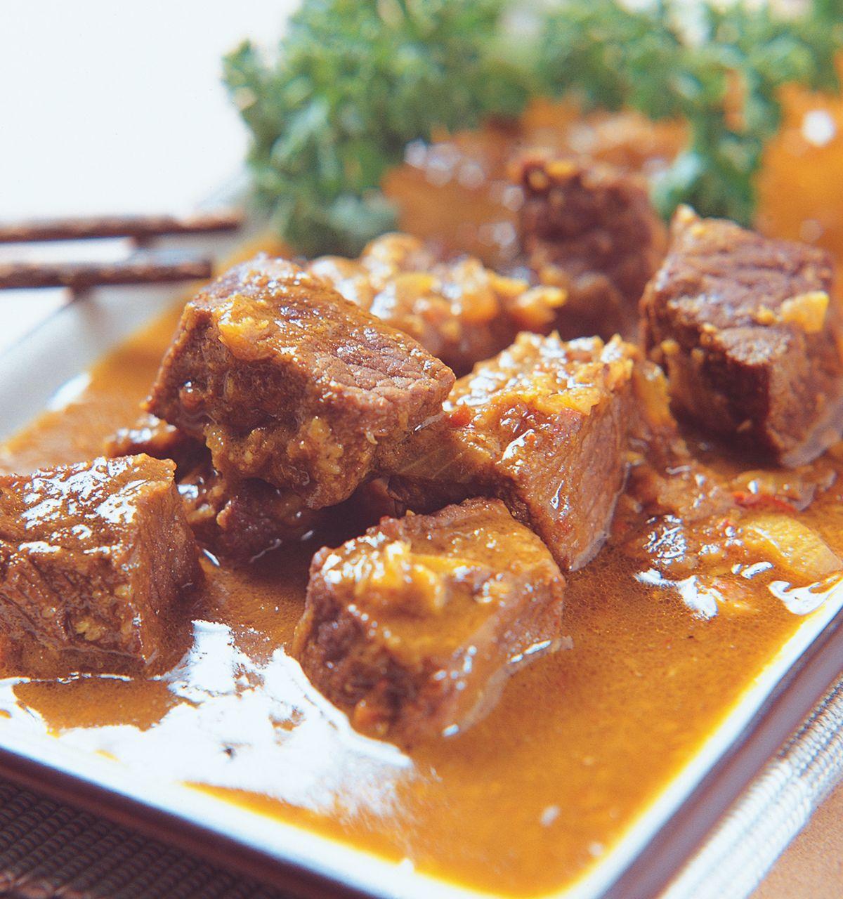 食譜:咖哩巴東牛肉
