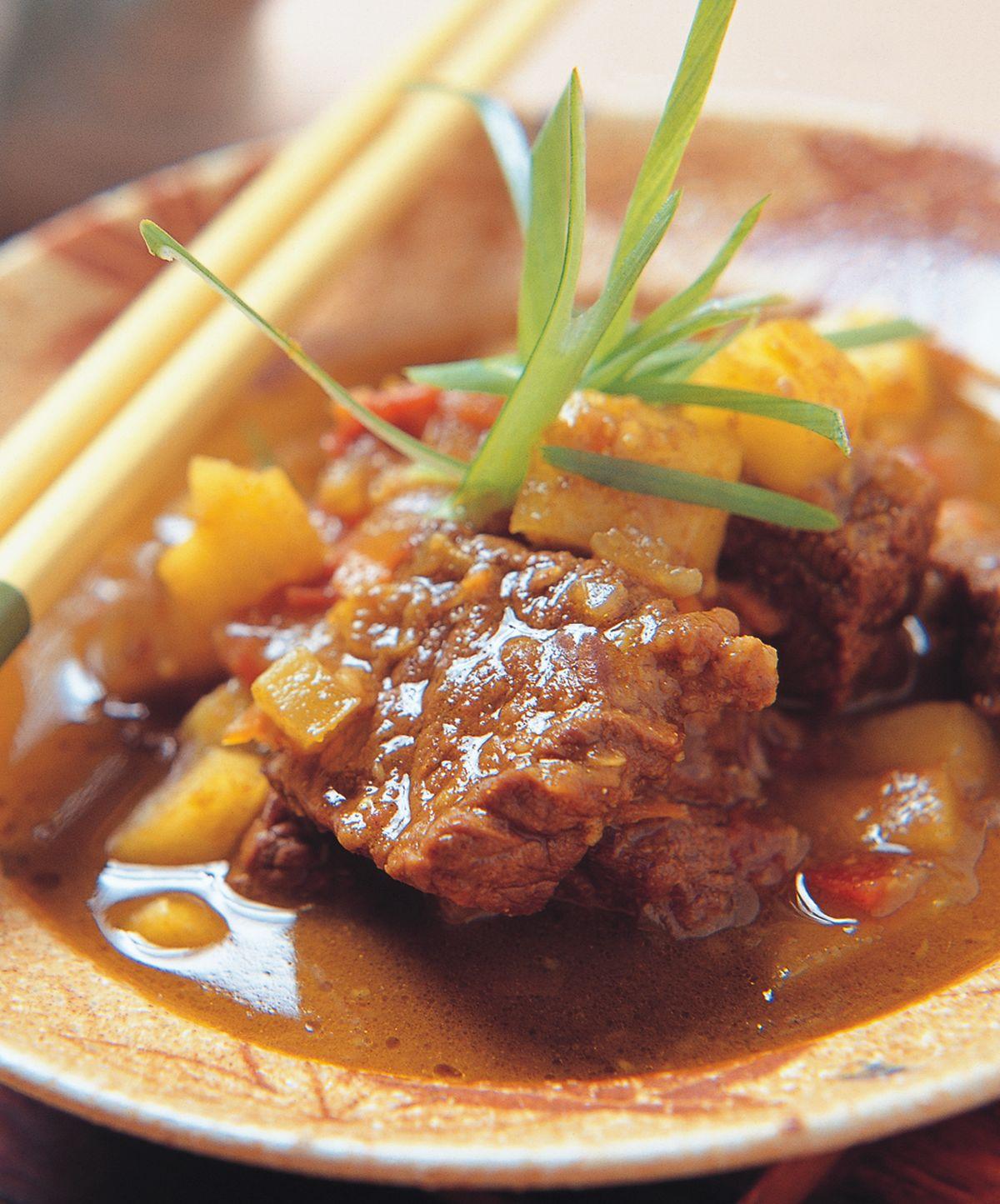食譜:咖哩牛肉