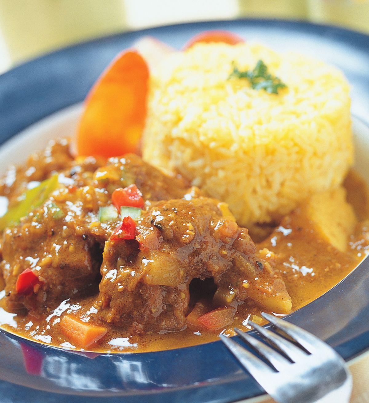 食譜:咖哩紅酒燉肉