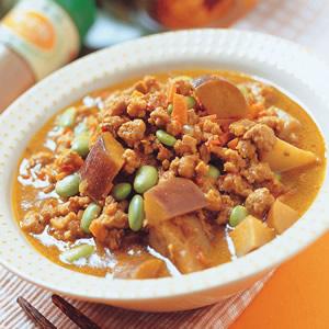 咖哩燉肉豆