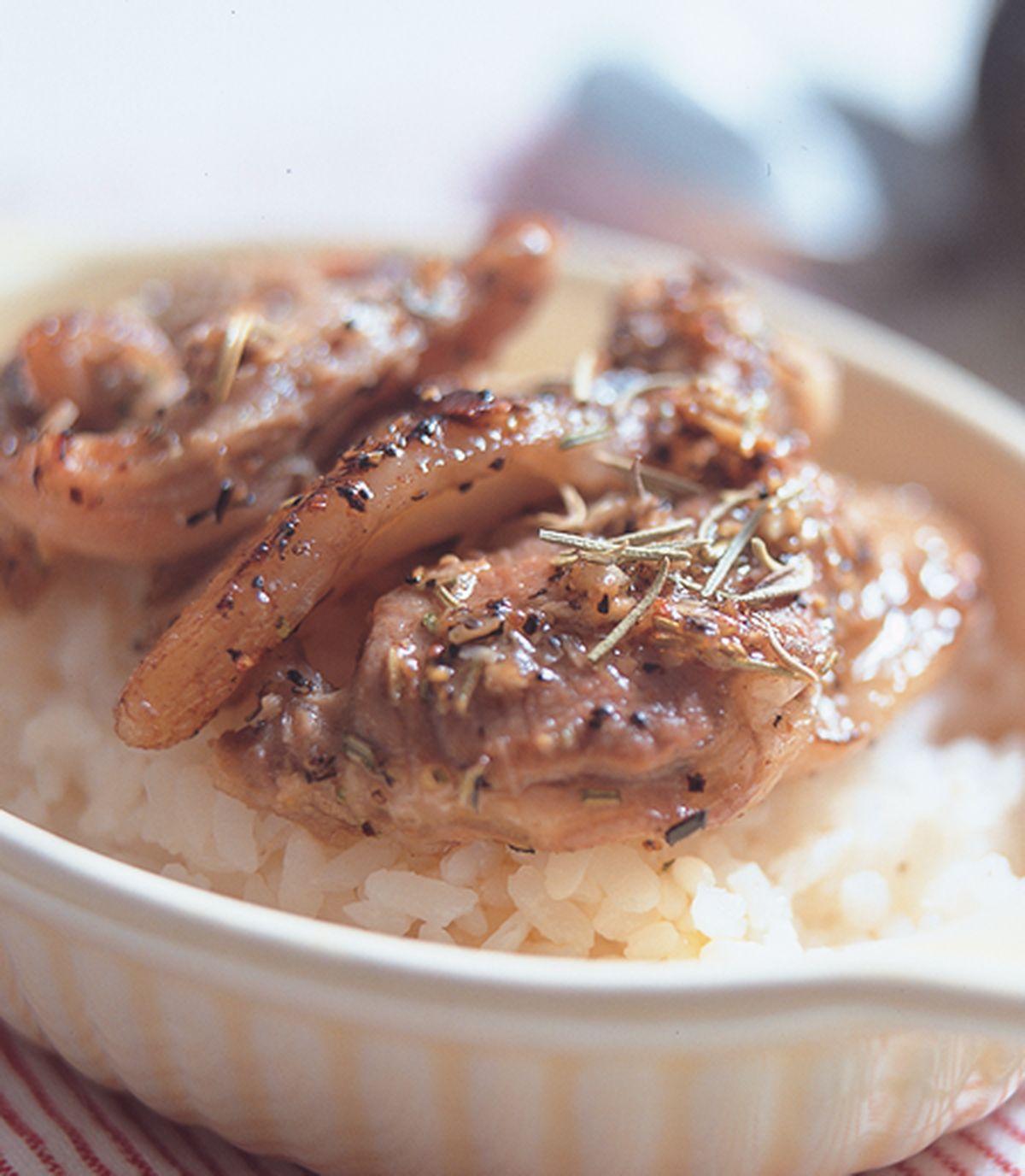 食譜:迷迭香羊里肌烤肉飯