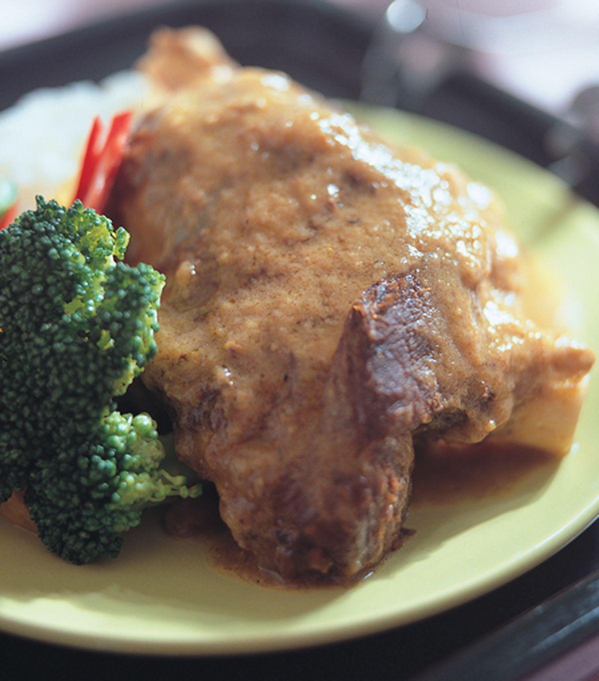 食譜:烤羊膝飯