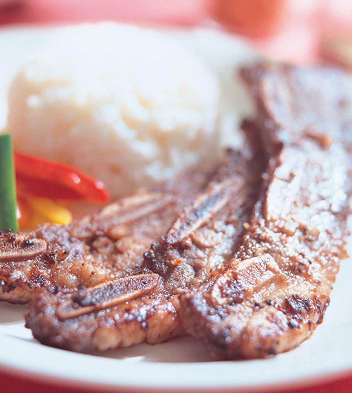 食譜:烤牛小排飯