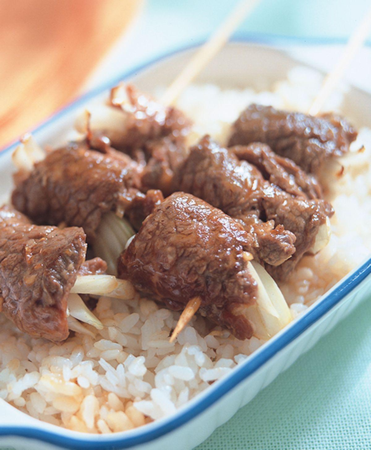 食譜:五香烤牛肉捲飯
