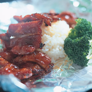 叉燒烤肉飯