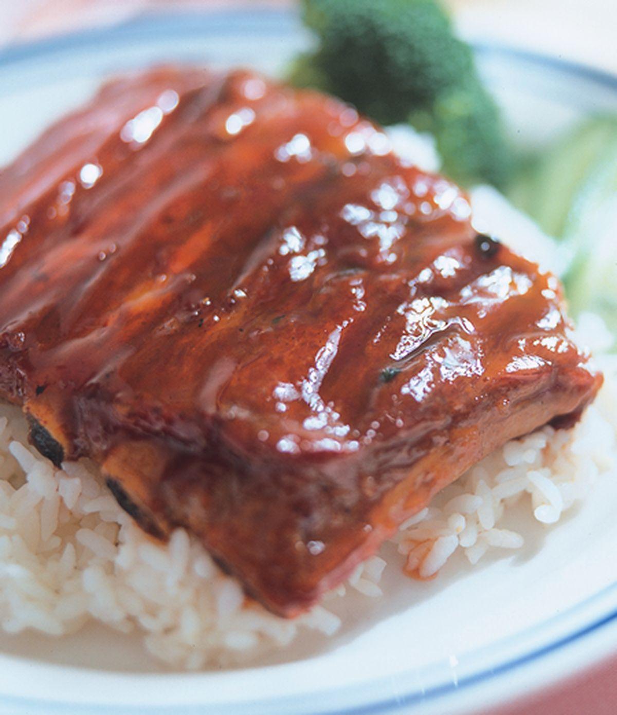 食譜:蜜汁排骨烤肉飯