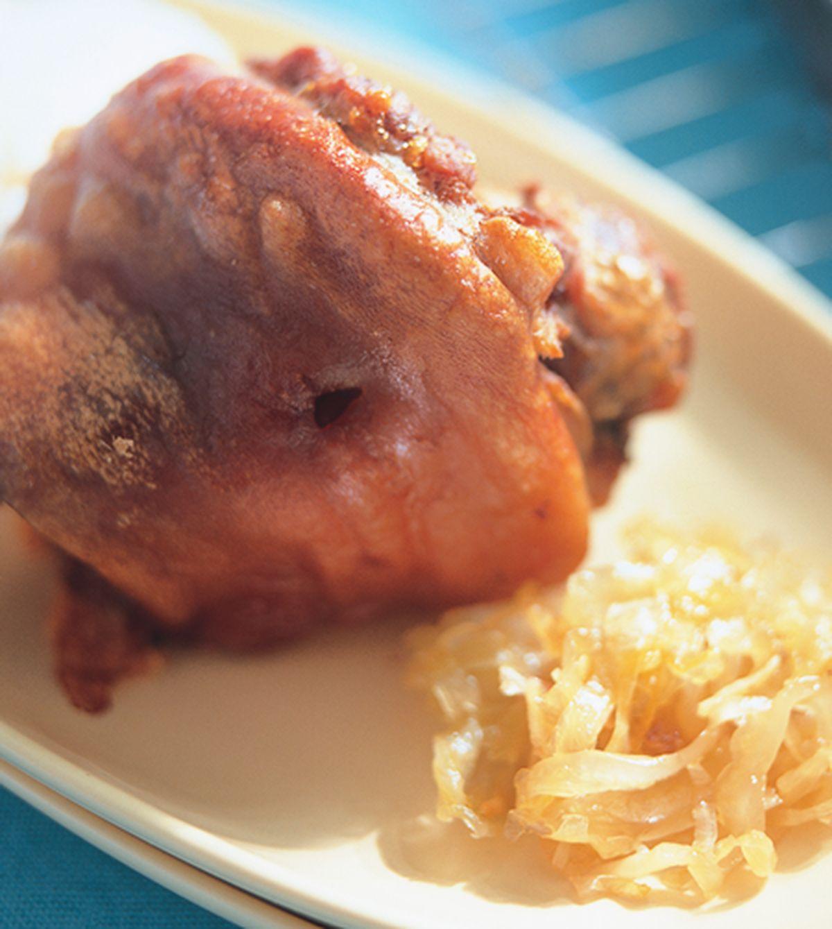 食譜:烤豬腳飯