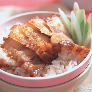 五香烤豬肉飯
