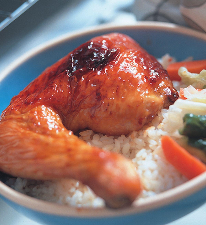 食譜:照燒雞腿烤肉飯