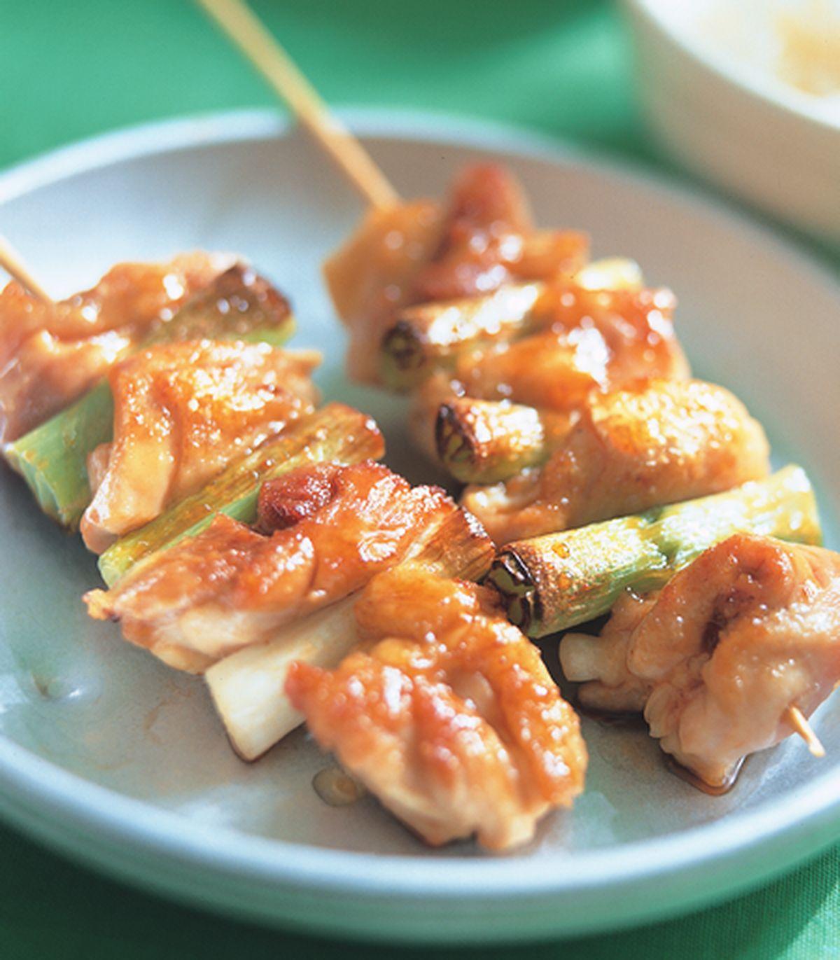 食譜:香蔥雞肉串烤肉飯